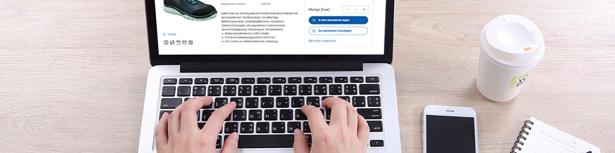 Angebot im Webshop erstellen
