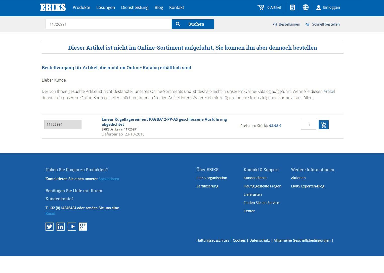 NCOE - Non-Catalogue Order Entries