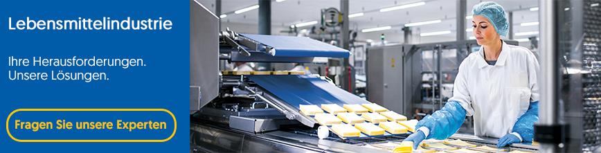 Lebensmittelindustrie_Ihre Herausforderungen_unsere Loesungen